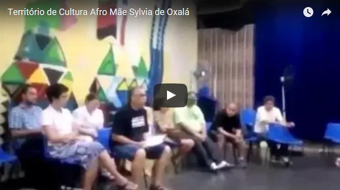 """Fórum De Cultura Do Centro Cultural """"Mãe Sylvia De Oxalá"""" – Jabaquara"""