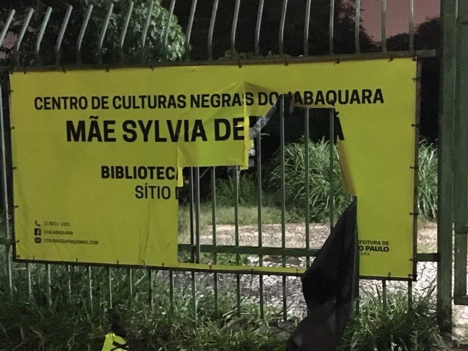 Centro Municipal De Culturas Negras Do Jabaquara – Mãe Sylvia De Oxalá Sofre Ataque